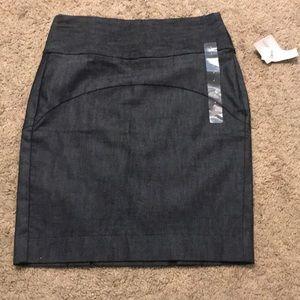 NWT gap jeans skirt.